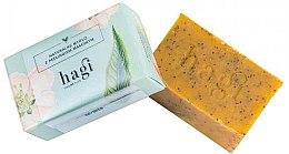 Parfüm, Parfüméria, kozmetikum Természetes szappan homoktövis olajjal és mákkal - Hagi Natural Soap