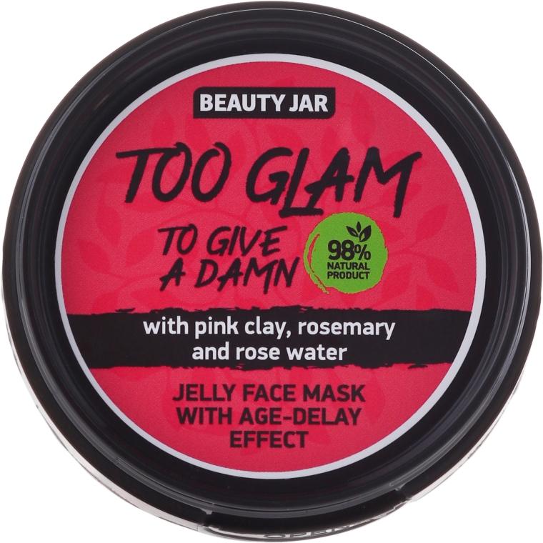 Zselé-maszk ránctalanító hatással - Beauty Jar Too Glam To Give A Damn Face Mask
