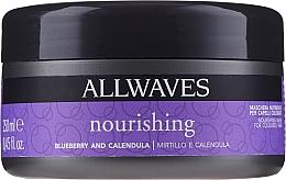Parfüm, Parfüméria, kozmetikum Hajfestés utáni tápláló maszk erdeibogyó és körömvirág kivonattal - Allwaves Blueberry And Calendula Nourishing Mask