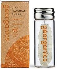 Parfüm, Parfüméria, kozmetikum Fogselyem, 30 m - Georganics Natural Sweet Orange Dental Floss