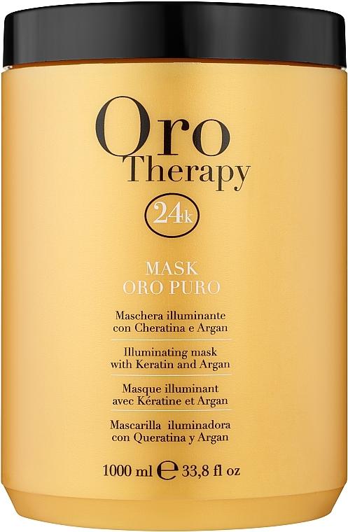 Helyreállító maszk aktív arany részecskékkel - Fanola Oro Therapy Oro Puro Mask