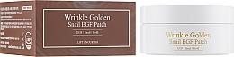 Parfüm, Parfüméria, kozmetikum Hidrogél szemtapasz arannyal és mucinnal - The Skin House Wrinkle Golden Snail EGF Patch