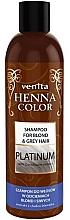 Parfüm, Parfüméria, kozmetikum Sampon világos és ősz hajra - Venita Henna Color Platinum Shampoo