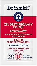 Parfüm, Parfüméria, kozmetikum Kézfertőtlenítő - Dr. Szmich Hands Disinfecting Gel (minta)