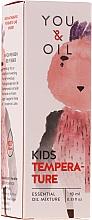 Parfüm, Parfüméria, kozmetikum Illóolaj keverék gyermekenek - You & Oil KI Kids-Temperature Essential Oil Mixture