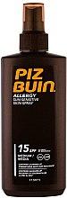 Parfüm, Parfüméria, kozmetikum Napvédő spray testre - Piz Buin Allergy Spray Spf15