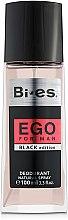 Parfüm, Parfüméria, kozmetikum Bi-Es Ego Black Edition - Spray dezodor