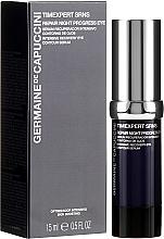 Parfüm, Parfüméria, kozmetikum Regeneráló szemöldök szérum - Germaine de Capuccini Timexpert SRNS Repair Night Progress Eye