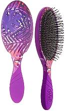 Parfüm, Parfüméria, kozmetikum Hajfésű - Wet Brush Pro Detangler Neon Summer Tropics Purple