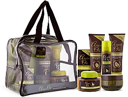 Parfüm, Parfüméria, kozmetikum Szett - Xpel Marketing Ltd Argan Oil (sh/250ml+cond/250ml+oil/50ml+mask/220ml+h/spr/150ml+b/but/250ml)