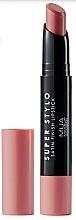 Parfüm, Parfüméria, kozmetikum Szatén ajakrúzs - MUA Academy Super Stylo Satin Finish Lipstick (Fabulicious)