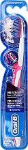 Parfüm, Parfüméria, kozmetikum Fogkefe, lágy, rózsaszín - Oral-B Proflex 3D White Luxe 38 Soft