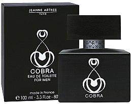 Parfüm, Parfüméria, kozmetikum Jeanne Arthes Cobra Men - Eau De Toilette