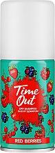 Parfüm, Parfüméria, kozmetikum Száraz sampon - Time Out Dry Shampoo Red Berries