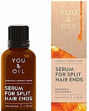 Parfüm, Parfüméria, kozmetikum Szérum osztott végekre - You & Oil Amber. Serum For Split Hair Ends