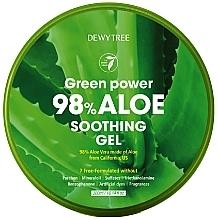 Parfüm, Parfüméria, kozmetikum Nyugtató gél aloe-val - Dewytree Green Power Aloe Soothing Gel