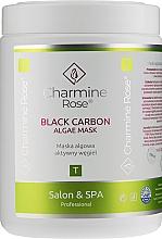 Parfüm, Parfüméria, kozmetikum Alginát arcmaszk aktív szénnel - Charmine Rose Black Carbon Algae Mask
