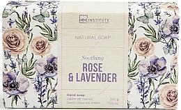 Parfüm, Parfüméria, kozmetikum Szappan - IDC Institute Soothing Hand Natural Soap Rose & Lavender