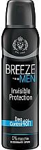 Parfüm, Parfüméria, kozmetikum Breeze Deo Invisible Protection - Testdezodor