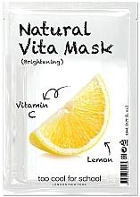 """Parfüm, Parfüméria, kozmetikum Élénkítő szövetmaszk """"Cirtom"""" C-vitaminnal - Too Cool For School Natural Vita Mask Brightening"""