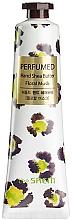 """Parfüm, Parfüméria, kozmetikum Tápláló kézkrém """"Muszkusz"""" - The Saem Perfumed Floral Musk Hand Shea Butter"""