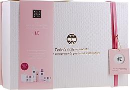 Parfüm, Parfüméria, kozmetikum Szett - Rituals The Ritual of Sakura Ceremony XL (b/scrub/250ml + s/gel/200ml + b/cr/200ml + soap/300ml + b/mist/50ml + candle/290g)