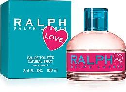 Parfüm, Parfüméria, kozmetikum Ralph Lauren Love - Eau De Toilette