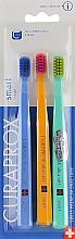 """Parfüm, Parfüméria, kozmetikum Gyerek fogkefe készlet """"Smart"""", kék, narancssárga, törkíz - Curaprox"""