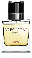 Parfüm, Parfüméria, kozmetikum Autós aromadiffuzór - Areon Luxury Car Perfume Long Lasting Red