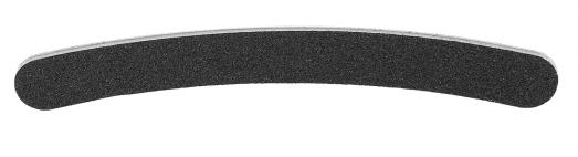 """Körömreszelő """"Banán"""", fekete 180/240 - Tools For Beauty Nail File Banana Black"""