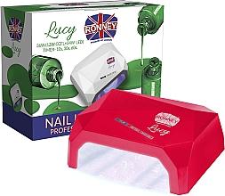 Parfüm, Parfüméria, kozmetikum CCFL+LED lámpa, piros - Ronney Professional Lucy CCFL + LED 38W (GY-LCL-021) Lamp