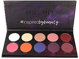 Parfüm, Parfüméria, kozmetikum Szemhéjfesték paletta - Ingrid Cosmetics Colors Matt & Glam Palette