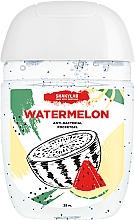 """Parfüm, Parfüméria, kozmetikum Kézfertőtlenítő """"Watermelon"""" - SHAKYLAB Anti-Bacterial Pocket Gel"""
