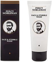 Parfüm, Parfüméria, kozmetikum Arctisztító - Percy Nobleman Face & Stubble Wash