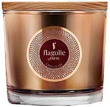 """Parfüm, Parfüméria, kozmetikum Illatgyertya pohárban """"Csokoládé"""" - Flagolie Fragranced Candle Chocolate"""
