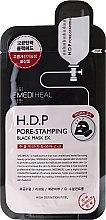Parfüm, Parfüméria, kozmetikum Szövetmaszk - Mediheal H.D.P. Pore-Stamping Black Mask EX