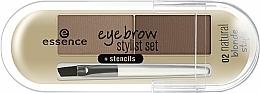 Parfüm, Parfüméria, kozmetikum Szemöldök púder - Essence Eyebrow Stylist