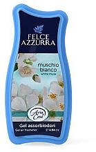 Parfüm, Parfüméria, kozmetikum Légfrissítő - Felce Azzurra Gel Air Freshener White Musk