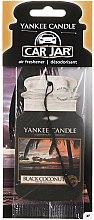 Parfüm, Parfüméria, kozmetikum Autóillatosító - Yankee Candle Car Jar Black Coconut Air Freshener