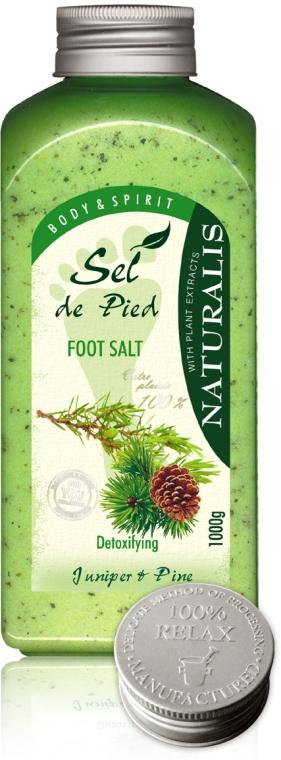 Lábsó - Naturalis Sel de Pied Juniper And Pine Foot Salt