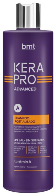 Sampon - Kativa Kerapro Advanced Post Straightening Shampoo A — fotó N1