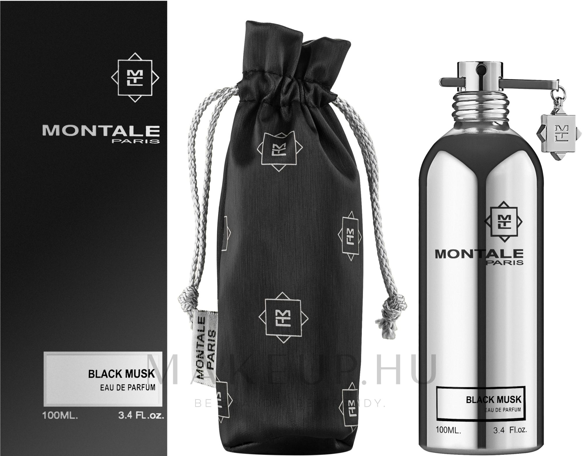 Montale Black Musk - Eau De Parfum  — fotó 100 ml