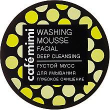 """Parfüm, Parfüméria, kozmetikum Sűrű arctisztító mousse """"Mély tisztítás"""" - Cafe Mimi Washing Mousse Facial Deep Cleaning"""