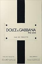 Parfüm, Parfüméria, kozmetikum Dolce&Gabbana The One - Szett (edt/50ml + edt/7.4ml)