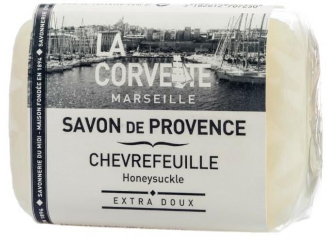 """Provence szappan""""Lonc"""" - La Corvette Provence Soap Honeysuckle"""