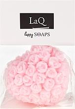 """Parfüm, Parfüméria, kozmetikum Kézzel készült természetes szappan """"Szív rózsákkal"""" meggy illatú - LaQ Happy Soaps Natural Soap"""
