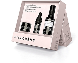 Parfüm, Parfüméria, kozmetikum Készlet - D'Alchemy Loss of Elasticity Skin Renewer Travel Pack (f/cr/15ml + f/oil/5ml + mic/water/30ml)