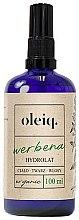 Parfüm, Parfüméria, kozmetikum Vasfű hidrolát arcra, testre és hajra - Oleiq Verbena Hydrolat