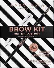 Parfüm, Parfüméria, kozmetikum Készlet - Anastasia Beverly Hills Better Together Brow Kit Soft Brown (pencil/0.08g + gel/2.5g)