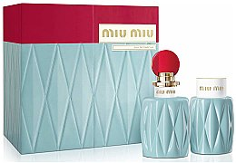 Parfüm, Parfüméria, kozmetikum Miu Miu Miu Miu - Szett (edp/100ml + b/lot/100ml)